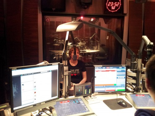 Ally in Studio from moderator's view
