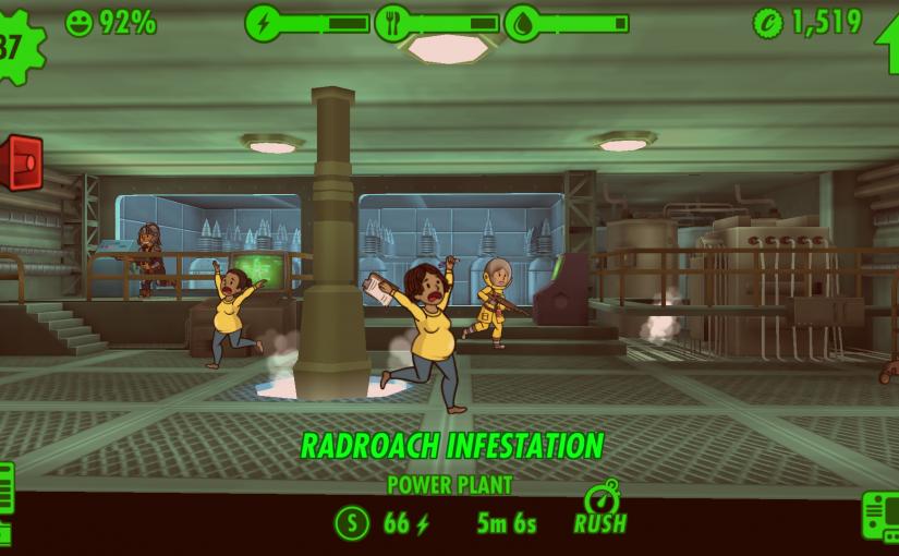 Ihhhhhhh, eine radioaktive Mauuuuuus — Geschlechterstereotype in Fallout Shelter