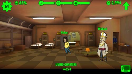 Fallout Shelter: Zölibat? Kenn ich nicht.