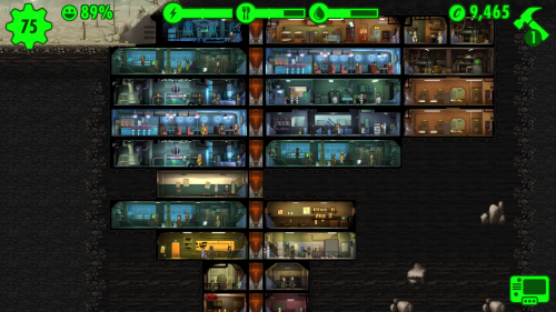 Screenshot aus Fallout Shelter