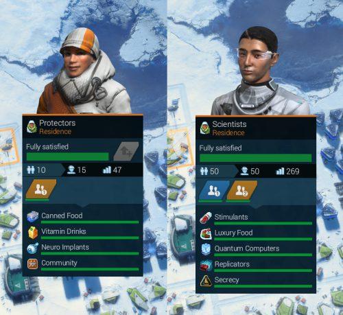 Anno 2205 Avatare in der Arktis